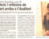 Auditori Montcada - La Veu de Montcada 2008