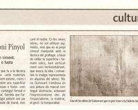 Galeria Toni Pinyol - Diari Reus - 2009